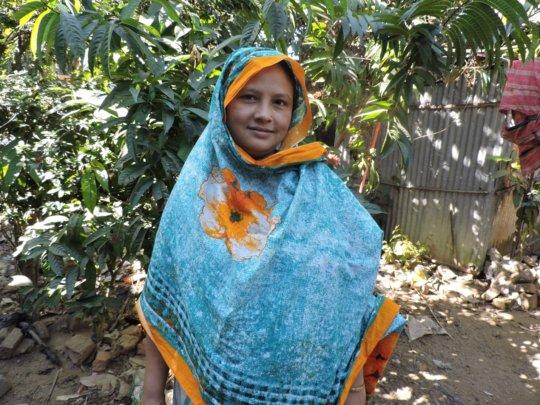 Hasina - screened for cervical cancer