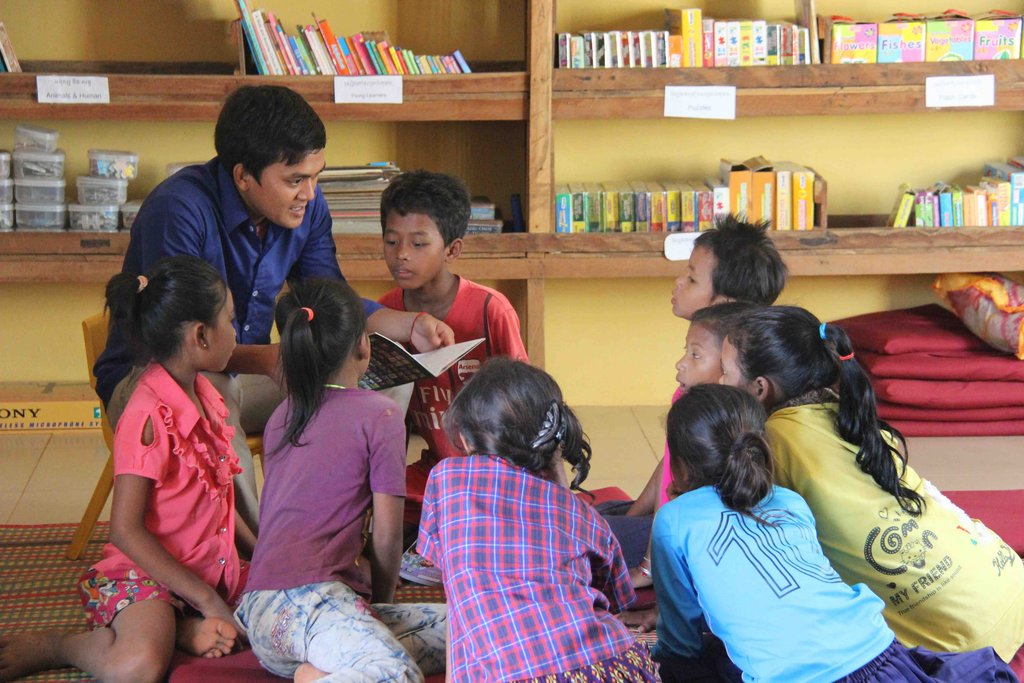 Reports On Provide Quality Education To 200 Khmer Children