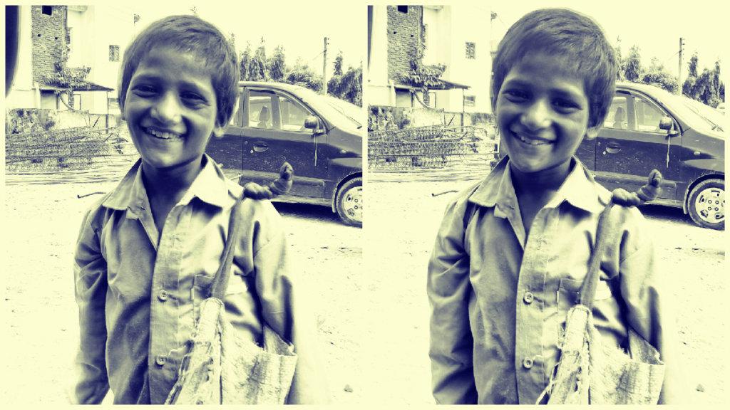 Street child Radhe
