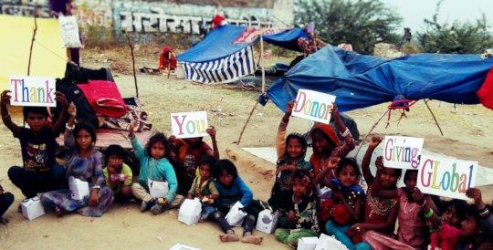Street Children Say; Happy ThanksGiving Day!!