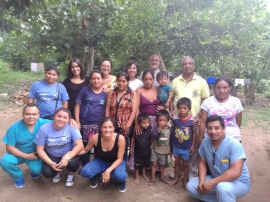 Health promoters, volunteers and Zoila