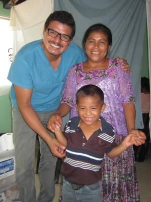 Manuel with Mother and Ariel