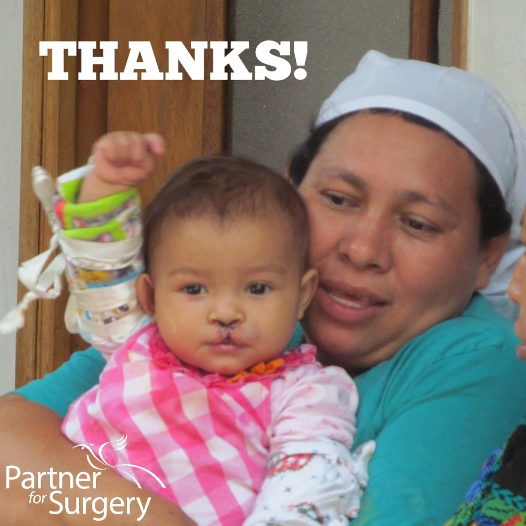 With gratitude from Partner for Surgery