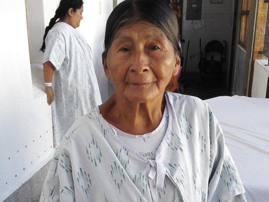 Felisa, a sweet 75-year-old