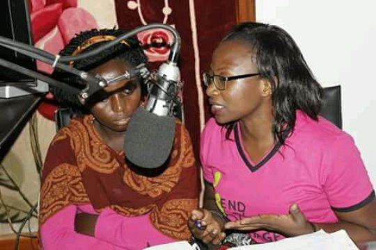 the pre - IDGC in an interactive radio talk show