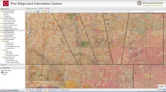 LLRP's Pine Ridge Land Information System