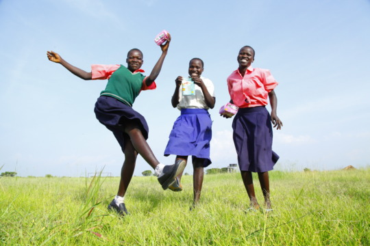 Our supported School girls