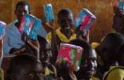Sanitary Pads to Keep 600 Young Girls in School