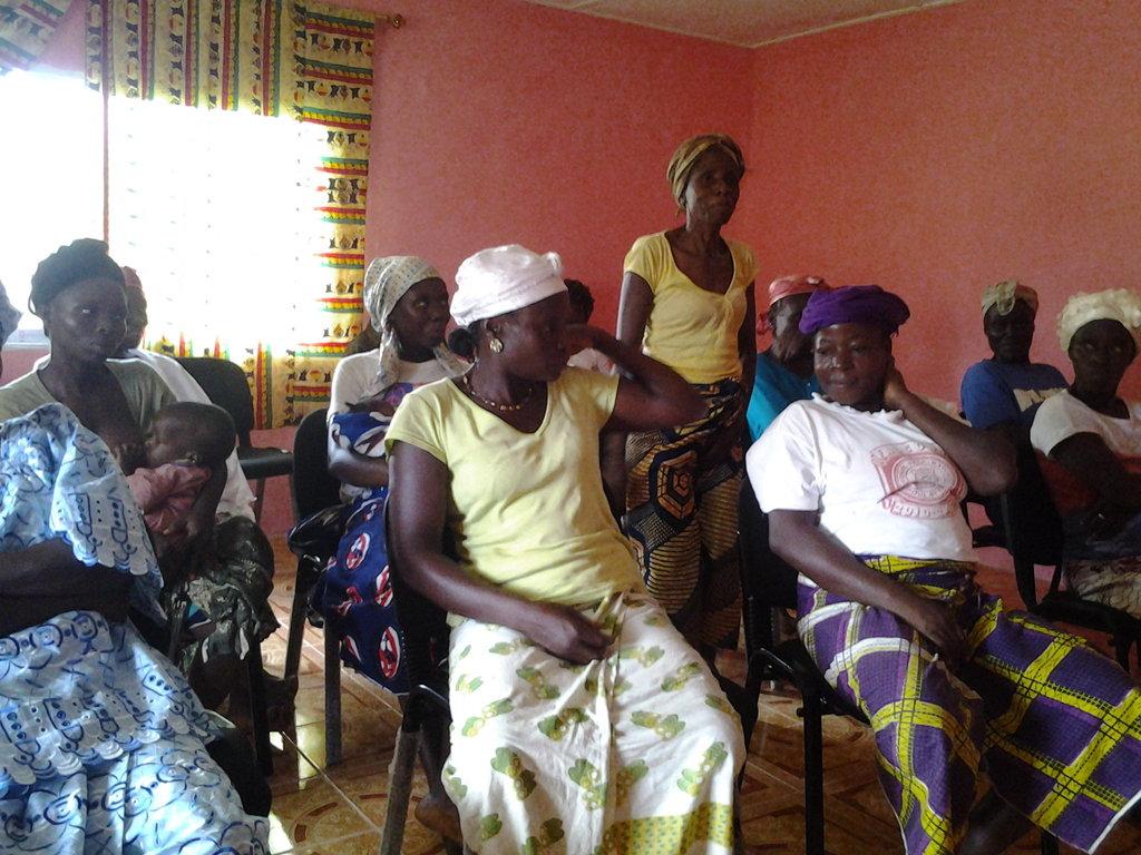 Empower Liberian Women to stop Ebola !