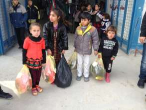 Distribution of much needed items