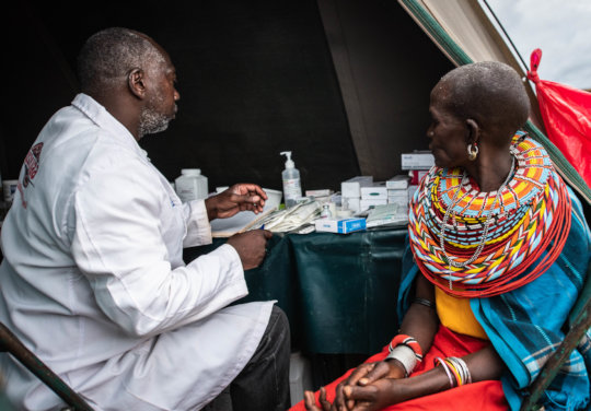 Service provision during a CHAT Mobile clinic