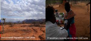 Effects of environmental degradation in Samburu