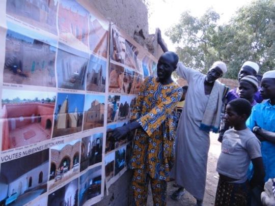 AVN promotional meeting , Deguele village, Burkina