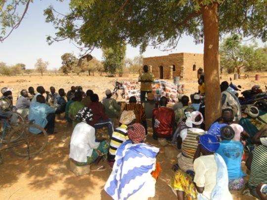 NV Promotional meeting, Burkina Faso