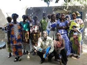 Participants at the AVN Womens' Workshop