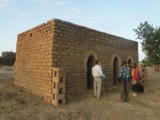 New AVN office in Yaco, Burkina Faso