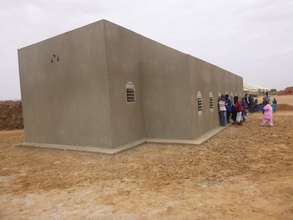 Completed literacy center