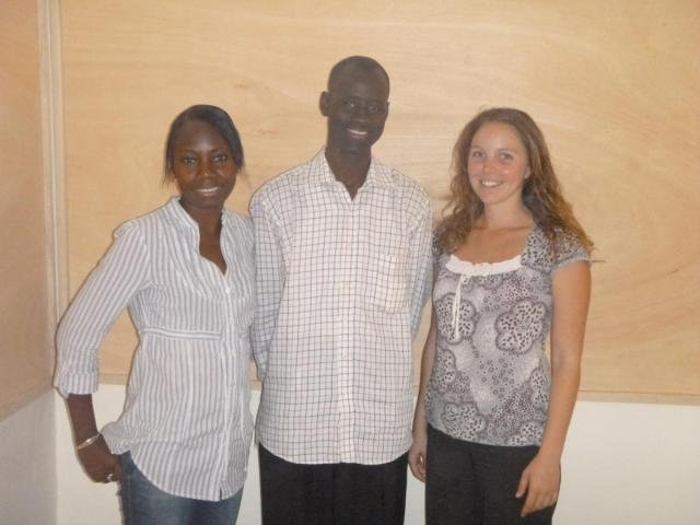 Khady Ly, Ndiame Fall & Fanny Dupuis