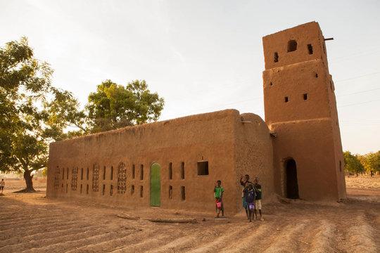 NV Catholic church, Petit-Bale, Burkina Faso
