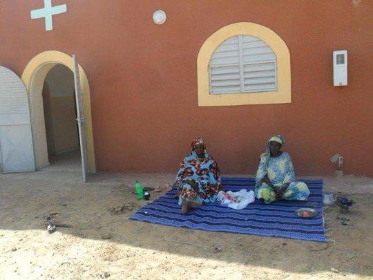 Outside Nguendar Clinic