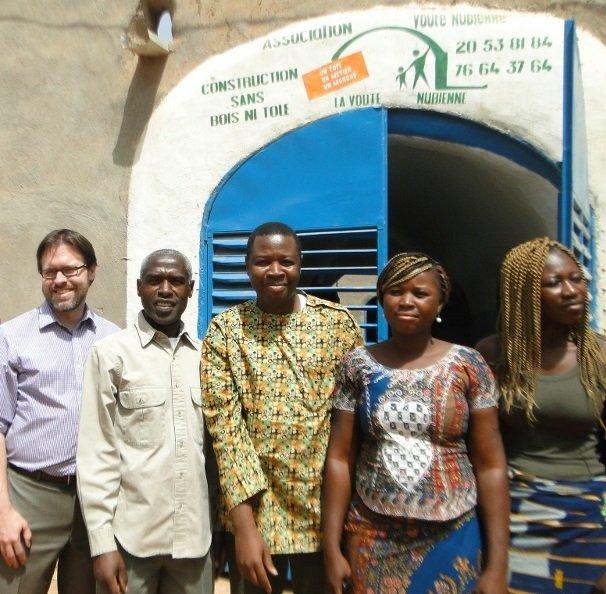 Sesnak (US Embassy) & Ambassador with AVN team
