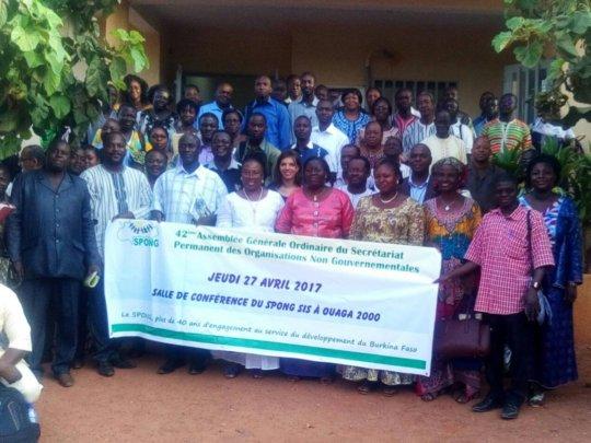 SPONG participants, Ouagadougou