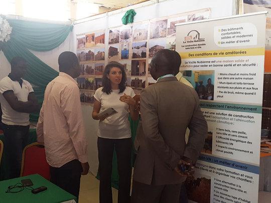 AVN stand at SIERO, Ouagadougou