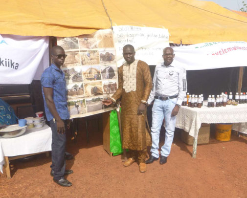 AVN at the International Literacy Day - Mali