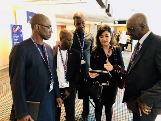 AVN and the Ministry of Housing of Mali at the WUF