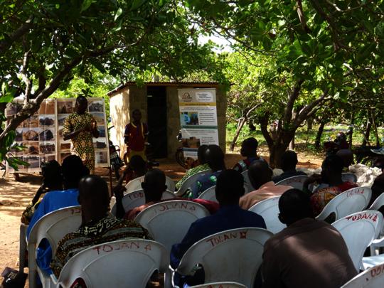 Awareness of farmer's group in Benin