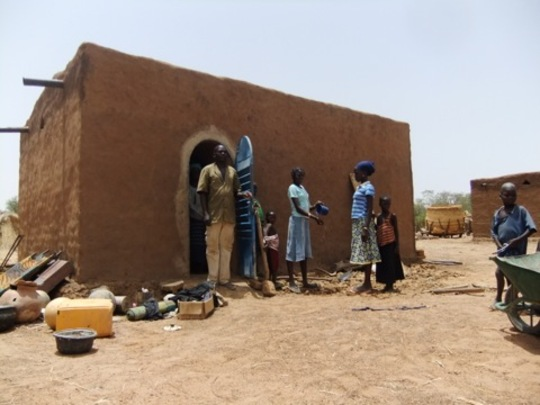 NV house, Bambrigouani, Burkina Faso