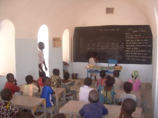 NV Literacy Centre, Kodeni village, Burkina Faso