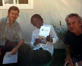 Baaba Maal with Antoine Horellou and Pascal Imbert