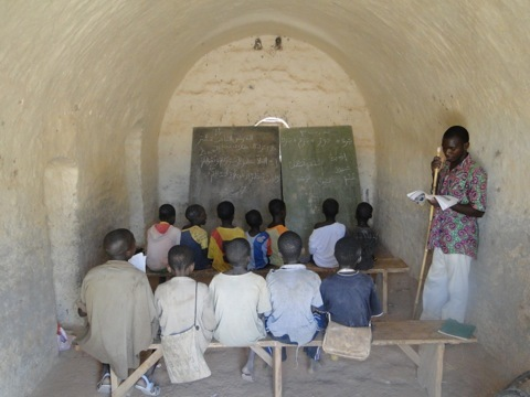 A VN village classroom, Burkina Faso