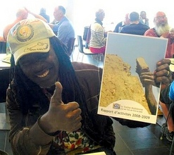 Alpha Blondy with AVN Annual Report