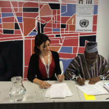 AVN signs agreement with Ghana at Habitat III