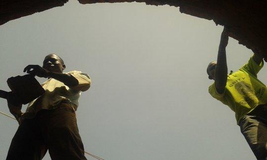Vault construction:  Issa Guira & Hubert Atuah