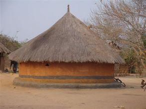 Zambian village house