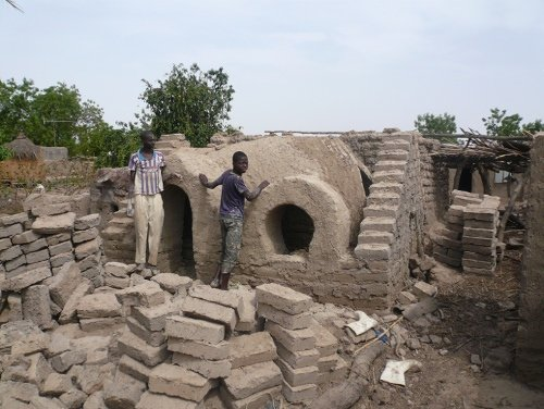 A Nubian vault chicken house, Dendjola village