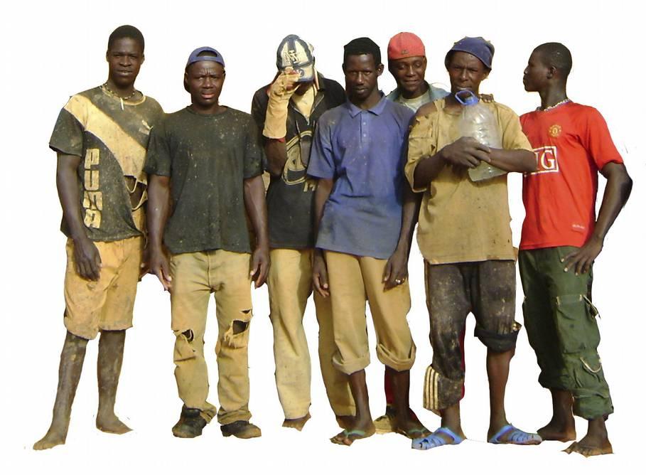 NV masons team, Burkina Faso