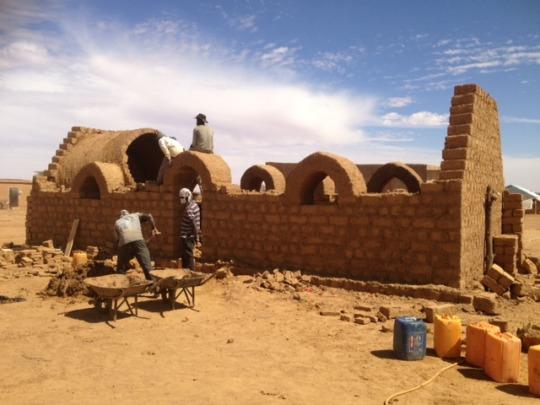 Community centre under construction