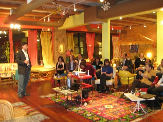 VISIONAR Adam Shames Workshop on Creativity