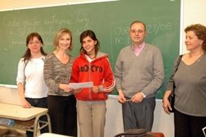 Elizabeth, 2008 VISIONAR scholar, Argentina