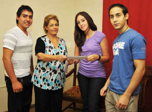 VISIONAR scholars and Program Coordinator
