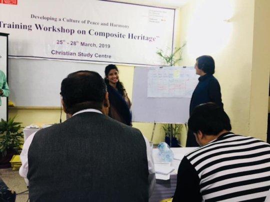 Training of teachers on Composite Heritage
