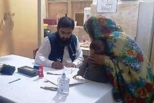 Medical Check up of Mother & Child