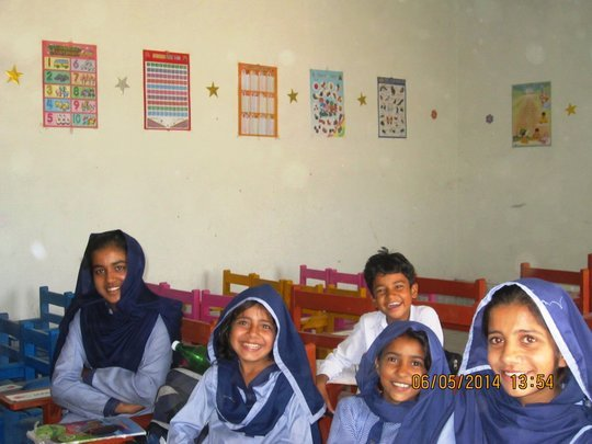 project photo for Free Education for 100 poor girls in Pakistan