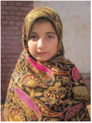 Daughter of Ms. Ruqia who joined the School.