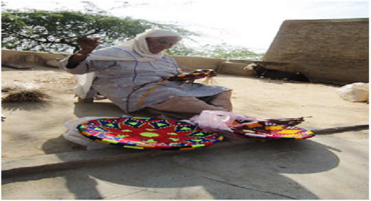 A Old Woman of the Village Rukhla