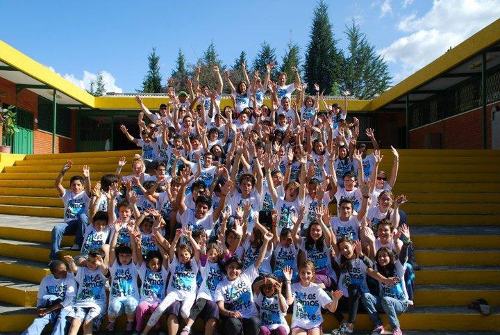 Group Shot - Campo amigo Ecuador 2011